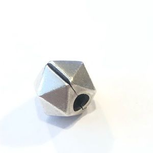 Pandora Rock Star Clip Sterling Silver Charm